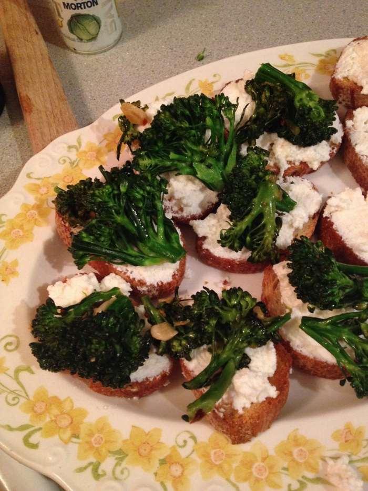 broccoli rabe bruschetta