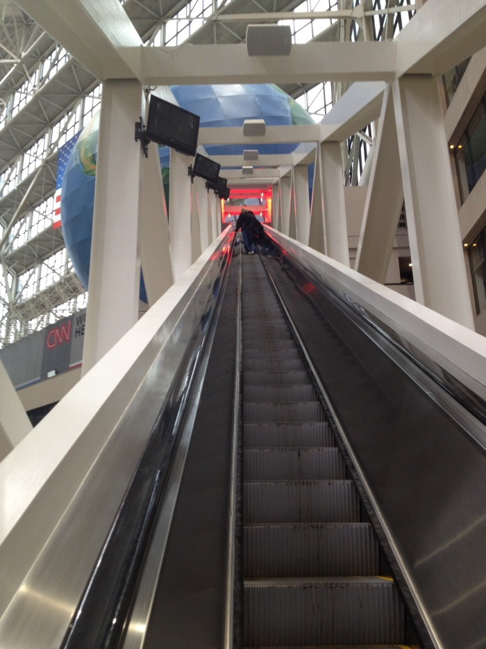 Worlds longest escalator