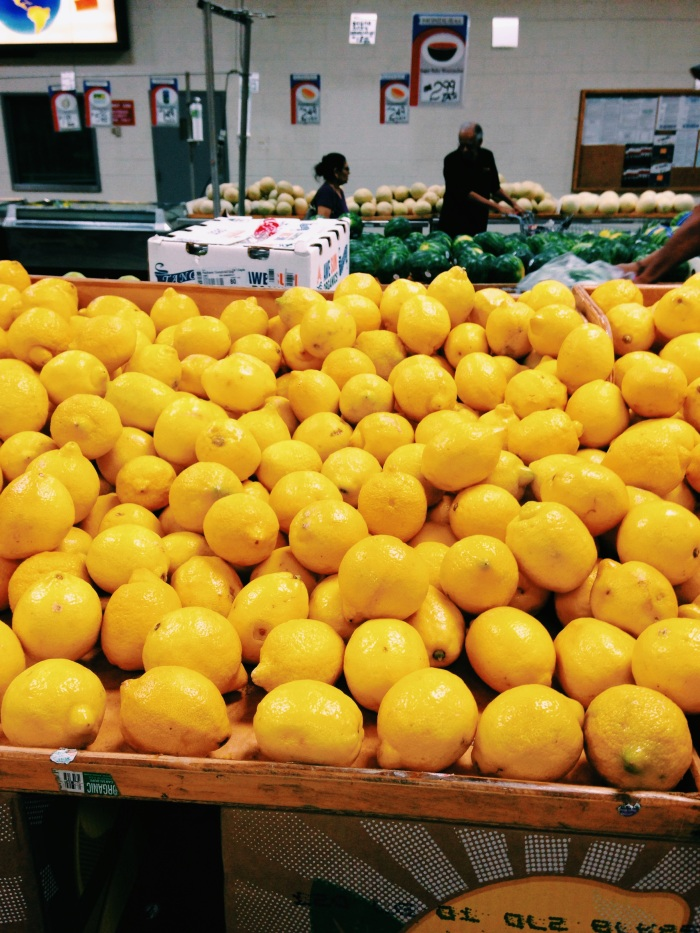 farmers market lemon