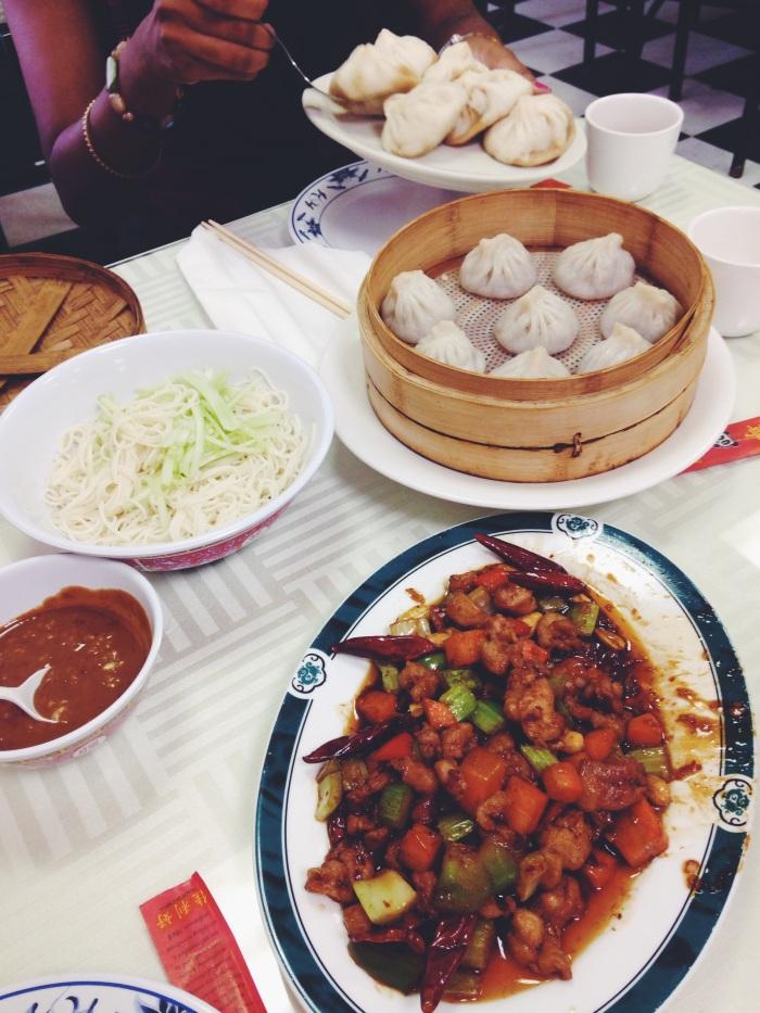 dumplings, noodles, & pad thai