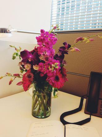 work flowers